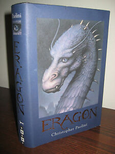 SIGNED-1st-2nd-Printing-ERAGON-Christopher-Paolini-FANTASY-Classic-RARE-Sci-Fi