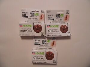 3-Packs-Rite-Aid-Home-Hearing-Aid-Batteries-Size-312-3-24PACKS-72-Total