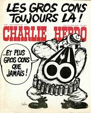 """""""CHARLIE HEBDO N°304 du 9/9/1976"""" CABU : LES GROS CONS TOUJOURS LA !"""