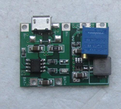 USB Lithium Li-ion 3.7V Battery Charging Module 4.2V Boost Step Up 5V 9V 12V 24V