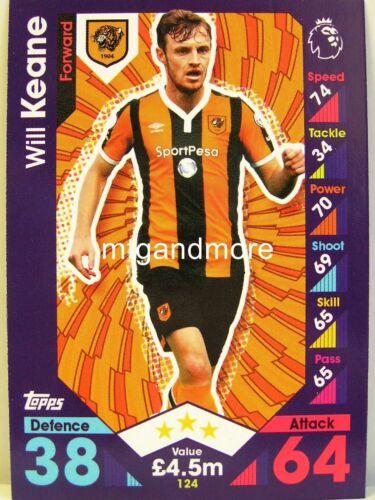Match ATTAX 2016//17 premier League #124 veut Keane-Hull City