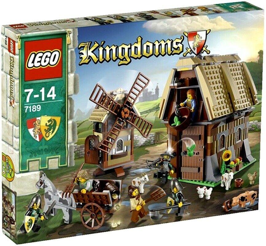 LEGO Kingdoms Mill Village Raid Set