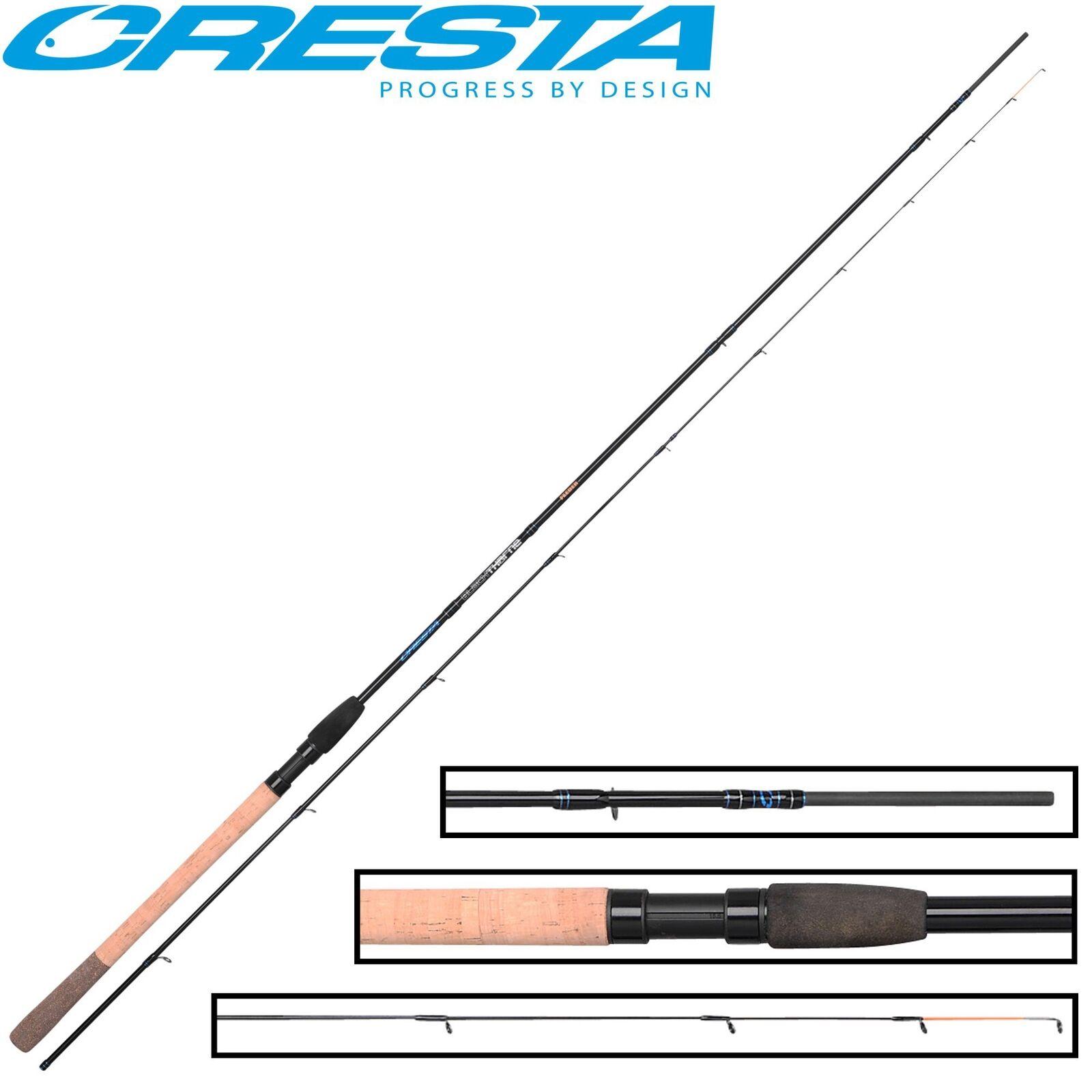 Cresta schwarzthorne Feeder 2 70m 70m 70m 40g - Feederrute Angelrute zum Futterkorbangeln b572dc