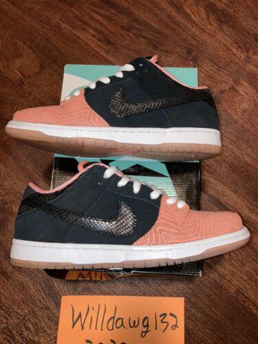Nike Sb Dunk Low Fish Ladder 313170-603 Size 11 Pr