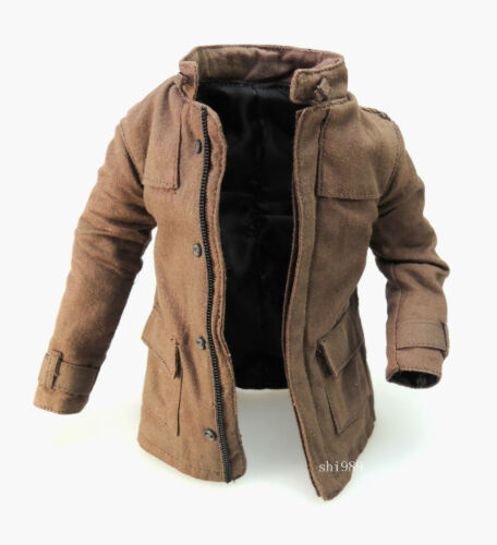 Brown Coat 1//6 Hot Toys 1//6 MMS275 John Blake /& Jim Gordon Set