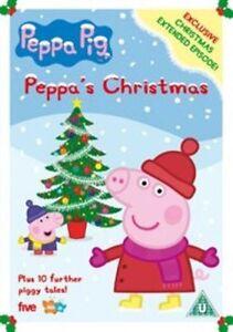 peppa pig peppas christmas dvd region 2