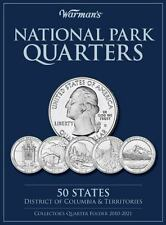 Warman's Collector Coin Folders: National Parks Quarters : 50 States District of Columbia and Territories - Collector's Quarters Folder 2010-2021 by Warman's Staff (2010, Hardcover)