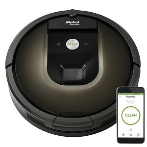 'iRobot Roomba 980 Robot Vacuum with Wi-Fi Connectivity' from the web at 'https://i.ebayimg.com/images/g/iA0AAOSwCMFaEgrP/s-l300.jpg'