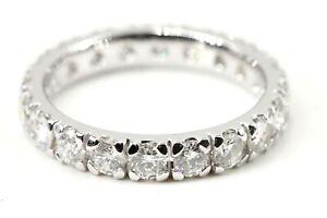 Memory-Ring-750-Diamant-18K-Weissgold-20-Brillanten-2-20ct-VS1-SI2-H-Groesse-56