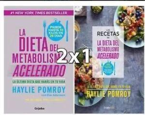 DIETA.DEL METABOLISMO ACELERADO+ RECETAS!!! LIBRO PDF..