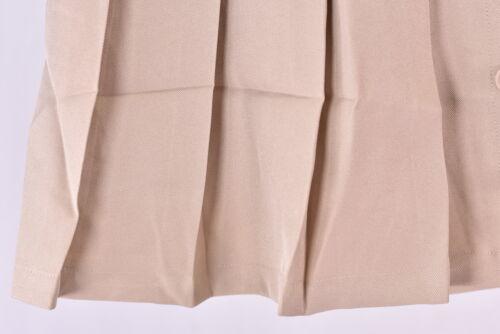 Khaki Youth Girl/'s Nautica Pleated Uniform Skort