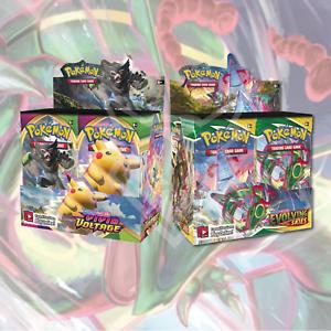 Evolving Skies Booster Box Pokemon Vivid Voltage Booster Box Bundle