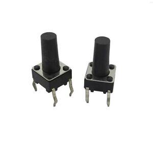 100 pcs Micro switch push button 6 * 6 * 11 mm NEW