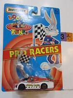 Matchbox Pro Racers Wile E. Coyote No. 44800 Looney Tunes 1993 MOC New Lumina