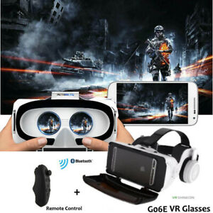 VR-di-realta-virtuale-VR-Occhiali-3D-cuffie-con-telecomando-per-Telefoni-Cellulari-Nuovo