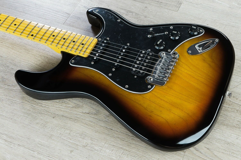 G&L Tribute Tribute Tribute Legacy HSS Guitarra Eléctrica diapasón de arce 3-tone Sunburst ac5579