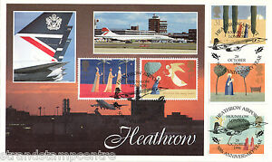 1996 Xmas - Cambridge Stamp Centre Heathrow Official - Only 50 Done !!