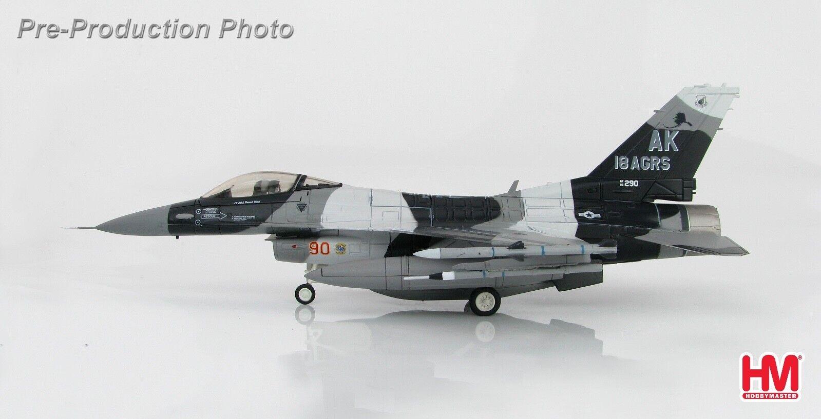 Hobby Master HA3844 1/72 F-16C bloque 30 86-0290 18th agresor Sqn commande 2018