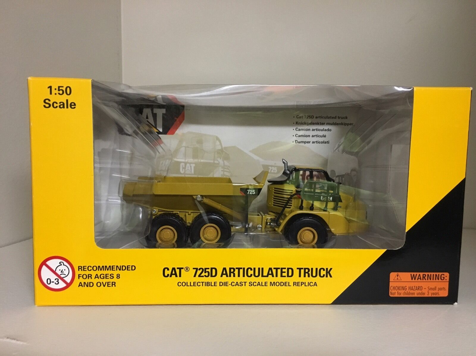 CAT 725D Articulated Truck Diecast - Norscot - 1 50 - 55073
