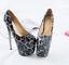 Indexbild 8 - 50 Lace 19cm Heels Stilettos Platform Damenschuhe Herren Crossdress Metal Pumps