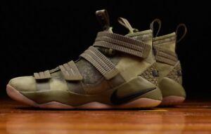 "Nike Lebron Soldier XI SFG ""King Army"" Olive Black Gum Army 11  504e22d70"