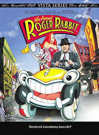 Who Framed Roger Rabbit (Vista Series) DVD, Joel Silver, Betsy Brantley, Lou Hir