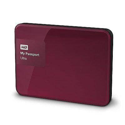 "WD 2TB 2.5"" My Passport Ultra Portable External Hard DISK USB 3.0 WDBBKD0020BBY."