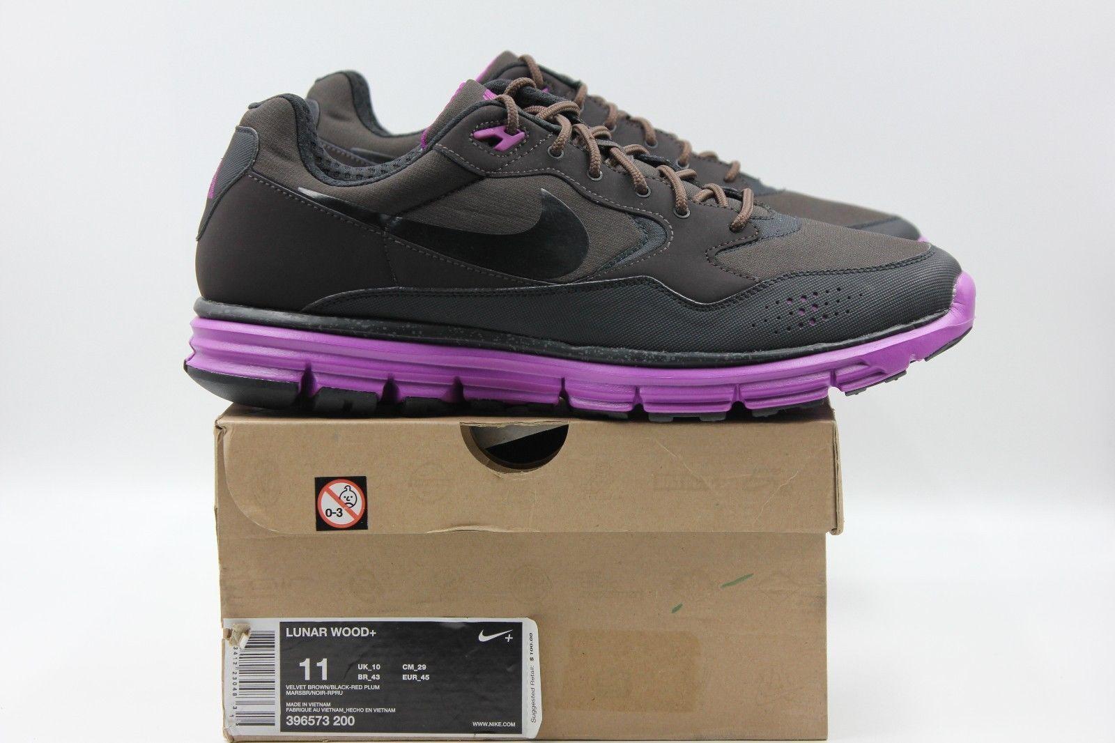 NIKE Lunar Wood+ Sneaker Schuhe Gr:45 Running Laufen Trendiger Alltags Schuh Neu
