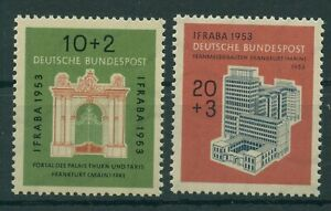 Germany-BRD-Federal-1953-Mi-171-172-Mint-MNH-More-See-Shop