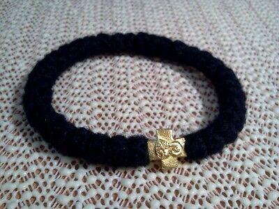 Orthodox russian greek chotki komboskini prayer rope rosary bracelet blesed wool