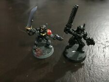 Astra Militarum 40K Imperial Guard Catachan Heavy Weapon KNIVES x 2