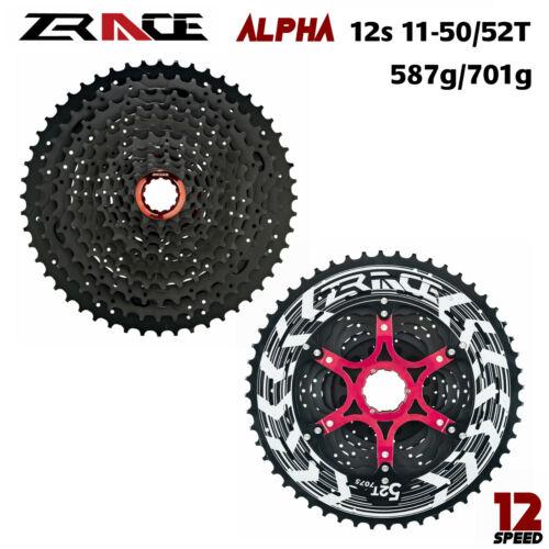 ZRace 12s Cassette MTB Wide UltraLight Freewheel 12S Big Cassette 50T//52T Chain