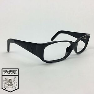 fb1ab733cdc2 Image is loading CALVIN-KLEIN-eyeglass-BLACK-frame-RECTANGLE-Authentic-MOD-