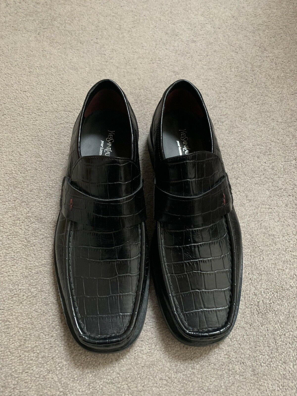 Conception innovante d4a8a 4c413 Yves Saint Laurent Homme Chaussures Taille 8 NEUF | New New ...