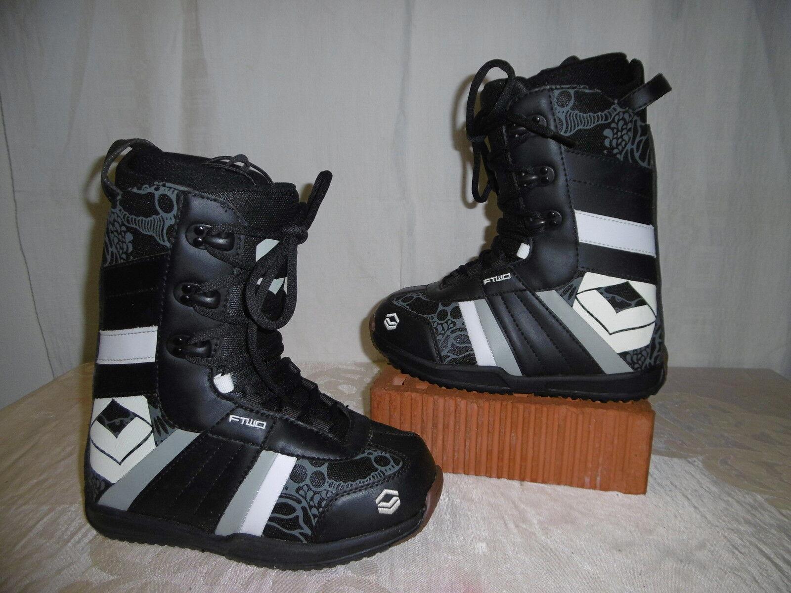FTWO  Gipsy  Top Junior Snowboard Stiefel Größe  35,5