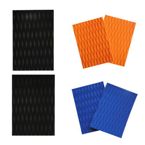 2Pcs-Premium-Surfboard-Kiteboard-Traction-Pad-Deck-Grip-DIY-Surf-Accessories
