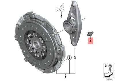 BMW X3 URO Parts Clutch Pivot Ball 21511223328-PRM 21511223328 New