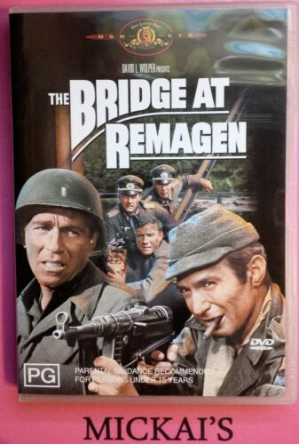 1 of 1 - THE BRIDGE AT REMAGEN (DVD, 2003) Classic War Movie