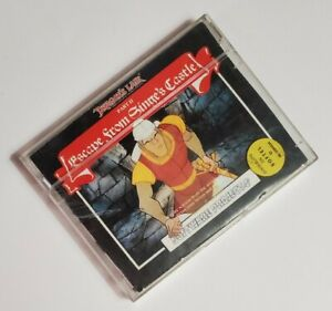 Dragon-039-s-Lair-II-Escape-from-Singe-039-s-Castle-Commodore-64-1986-Cassette-Tape
