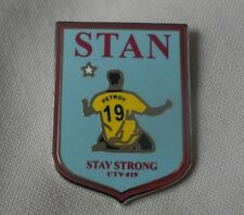 **NEW** Stan Petrov 'Stay Strong' enamel pin badge. #19,AVFC,Villa,Leukaemia
