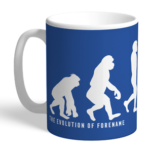 100% Vrai Leicester City F.c - Personalised Ceramic Mug (evolution) à Vendre