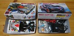 Used-Beak-Spider-Zebra-amp-Night-Hunter-Tamiya-four-wheel-drive-mini