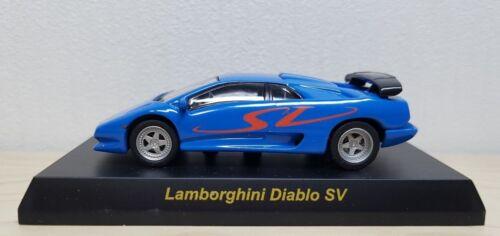 Kyosho 1//64 LAMBORGHINI DIABLO SV BLUE diecast car model