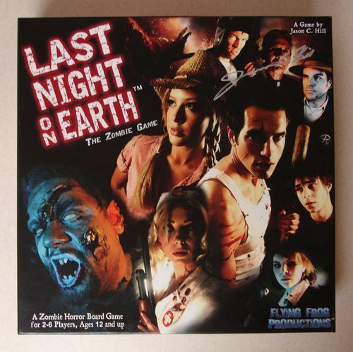 Last Night on Earth - Board Game - Used - Good condition. Free US Shipping