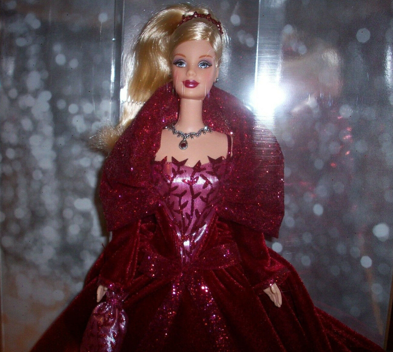 BARBIE BARBIE BARBIE  2002 Holiday Celebration Special Edition MINMB Collectibles rot 88d08e