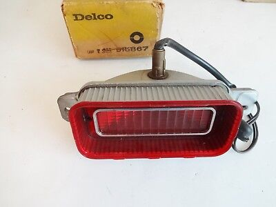 SET 1969 IMPALA TAIL LAMPS INNER AND LH RH OUTER AND BACKUP COMPLETE SET LENS