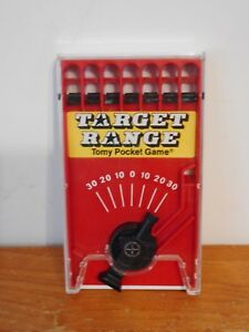 Details about Vintage Tomy Hand Held Game Target Range Number 7029