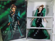 NIB BARBIE DOLL 1996 BOB MACKIE THE JEWEL ESSENCE COLLECTION EMERALD EMBERS