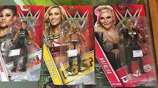 WWE Mattel Basic Lot 3 Female Smackdown Superstars Carmella, Natalya & Tamina