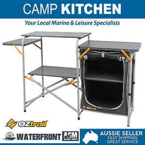 Oztrail-Camp-Kitchen-With-Single-Pantry